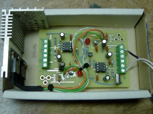 Fan controller with upgraded transistors