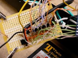 Transistor driver board
