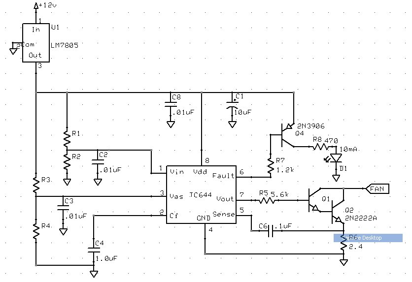 pwm fan diagram pwm fan controller | widgetninja's blog 4 pin pwm fan circuit diagram